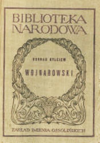 Okładka książki Wojnarowski