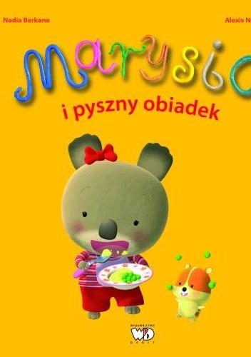 Okładka książki Marysia i pyszny obiadek