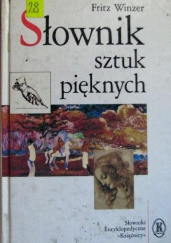 Okładka książki Słownik sztuk pięknych