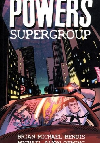 Okładka książki Powers vol 4 - Supergroup