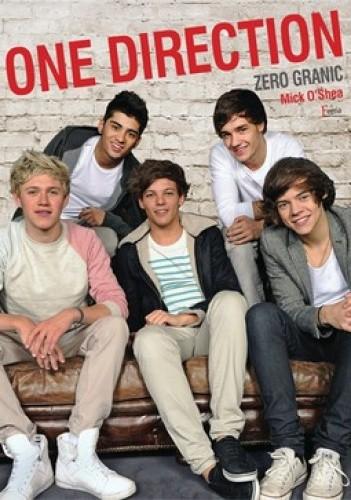 Okładka książki One Direction. Zero granic