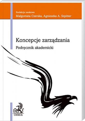 Okładka książki Koncepcje zarządzania