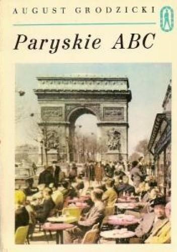 Okładka książki Paryskie ABC