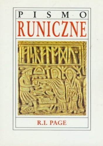 Okładka książki Pismo Runiczne