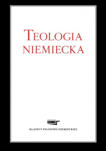 Okładka książki Teologia niemiecka
