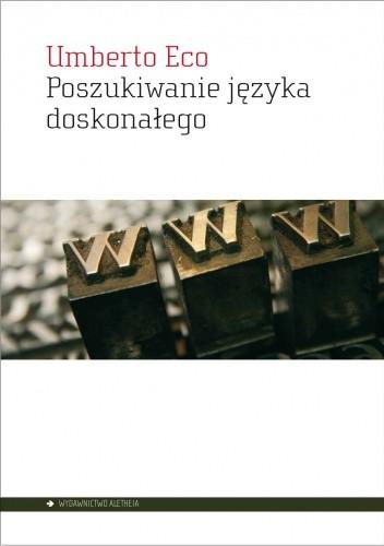 Okładka książki Poszukiwanie języka doskonałego w kulturze europejskiej