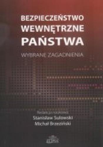 Okładka książki Bezpieczeństwo wewnętrzne państwa