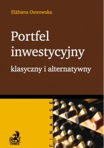 Okładka książki Portfel inwestycyjny klasyczny i alternatywny