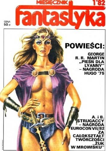 Okładka książki Miesięcznik Fantastyka 1 (1/1982)
