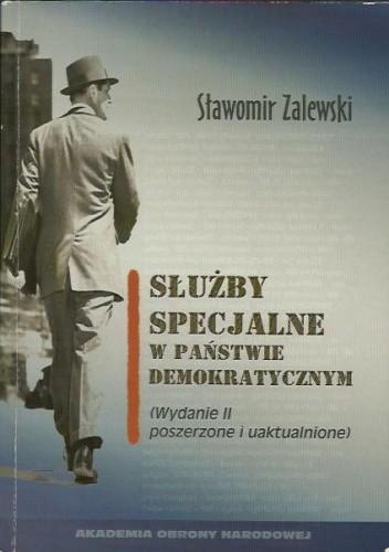 Okładka książki Służby specjalne w państwie demokratycznym