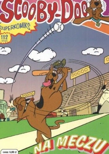 Okładka książki Scooby-Doo na meczu