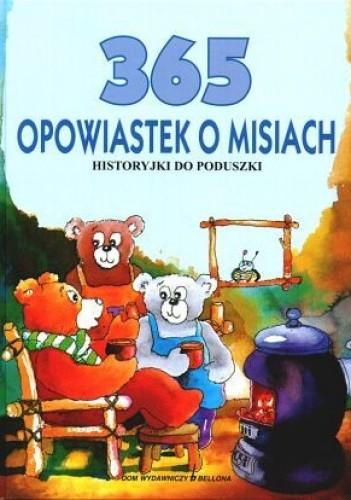 Okładka książki 365 opowiastek o misiach