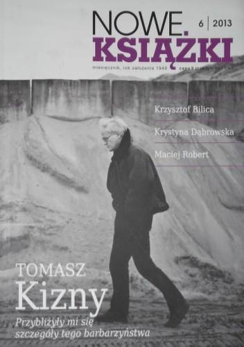 Okładka książki Nowe Książki, nr 6/2013