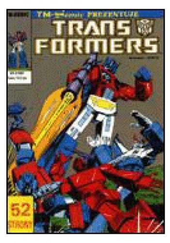 Okładka książki Transformers 3/1992