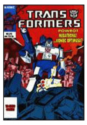 Okładka książki Transformers 2/1993