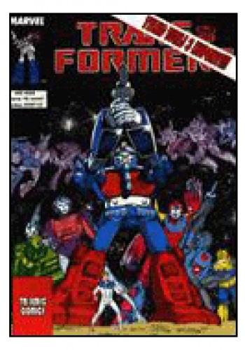 Okładka książki Transformers 4/1993