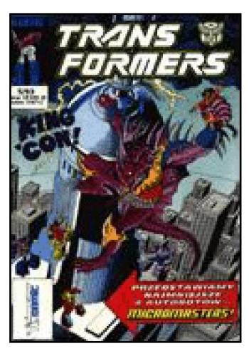 Okładka książki Transformers 5/1993