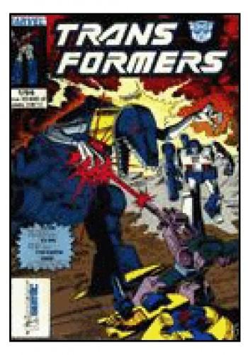 Okładka książki Transformers 1/1994