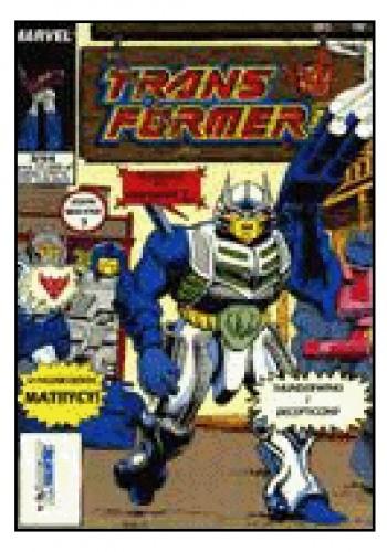Okładka książki Transformers 3/1994