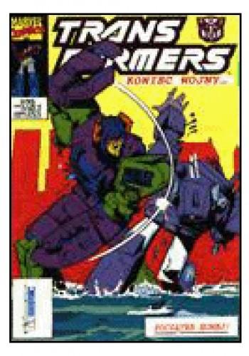 Okładka książki Transformers 2/1995