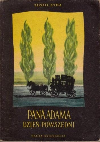 Okładka książki Pana Adama dzień powszedni