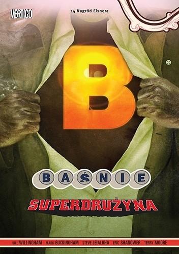 Okładka książki Baśnie: Superdrużyna