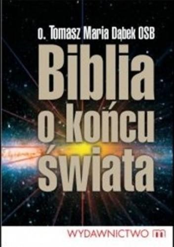 Okładka książki Biblia o końcu świata