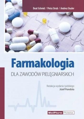 Okładka książki Farmakologia dla zawodów pielęgniarskich
