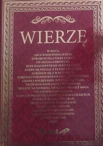 Okładka książki Wierzę