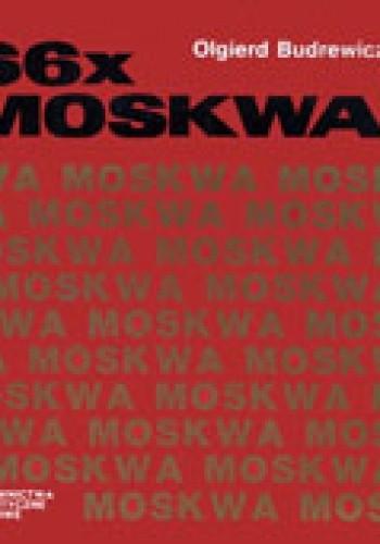 Okładka książki 66 x Moskwa
