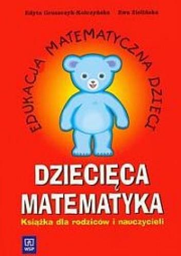 Okładka książki Dziecięca matematyka