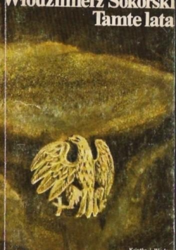 Okładka książki Tamte lata