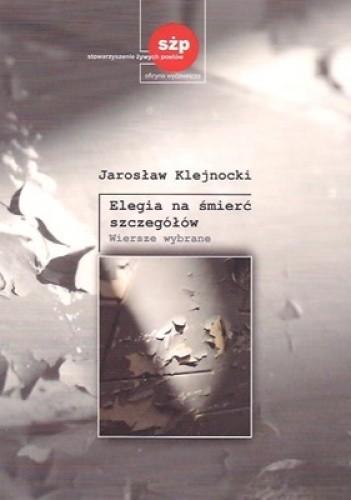Okładka książki Elegia na śmierć szczegółów