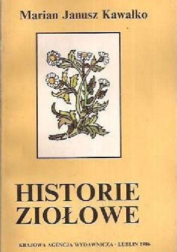 Okładka książki Historie ziołowe