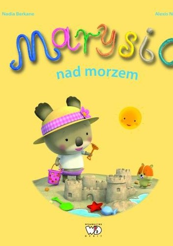 Okładka książki Marysia nad morzem