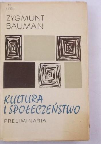 Okładka książki Kultura a społeczeństwo : preliminaria
