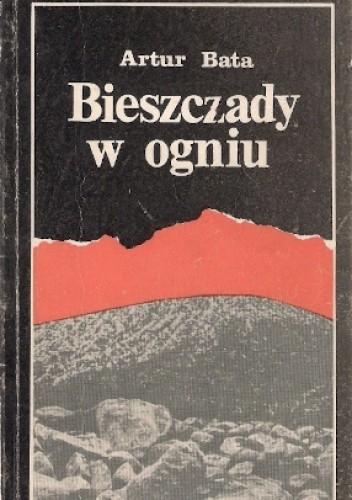 Okładka książki Bieszczady w ogniu