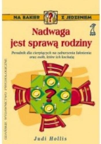 Okładka książki Nadwaga jest sprawą rodziny
