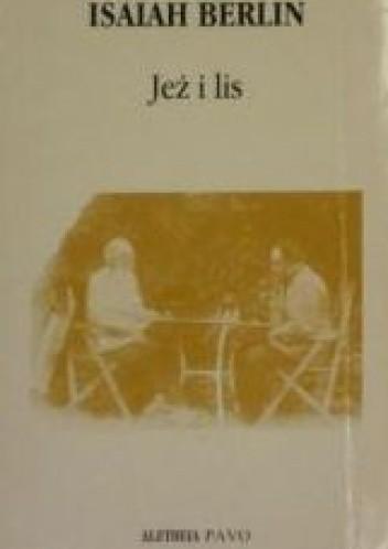 Okładka książki Jeż i lis