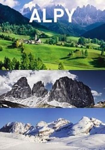 Okładka książki Alpy