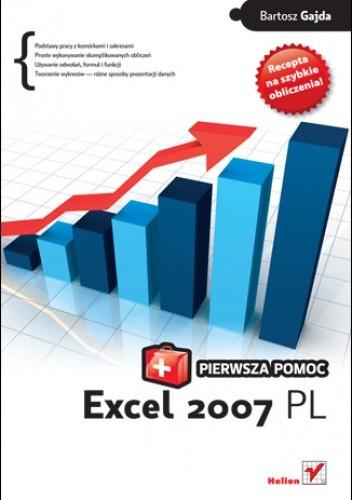 Okładka książki Excel 2007 PL. Pierwsza pomoc
