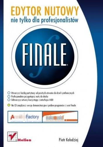 Okładka książki Finale. Edytor nutowy nie tylko dla profesjonalistów