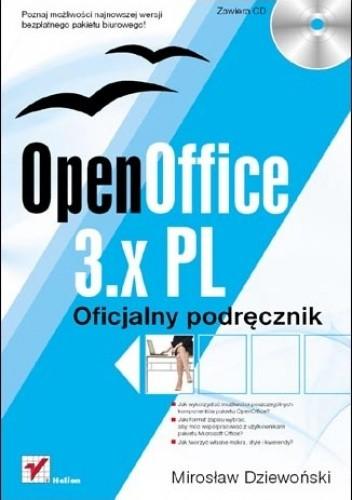 Okładka książki OpenOffice 3.x PL. Oficjalny podręcznik