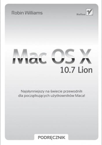 Okładka książki Mac OS X 10.7 Lion. Podręcznik