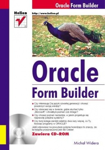 Okładka książki Oracle Form Builder