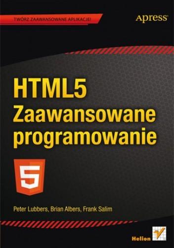 Okładka książki HTML5. Zaawansowane programowanie
