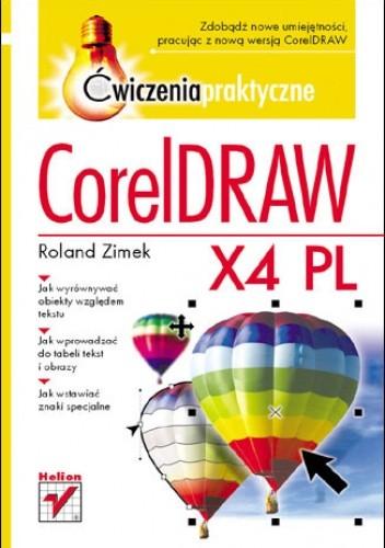 Okładka książki CorelDRAW X4 PL. Ćwiczenia praktyczne