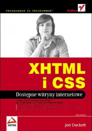 Okładka książki XHTML i CSS. Dostępne witryny internetowe