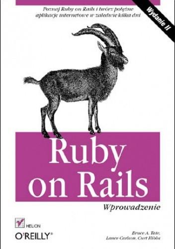 Okładka książki Ruby on Rails. Wprowadzenie. Wydanie II