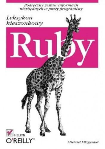 Okładka książki Ruby. Leksykon kieszonkowy
